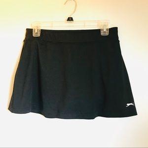 Slazenger Black Tennis Active Skirt Size Medium